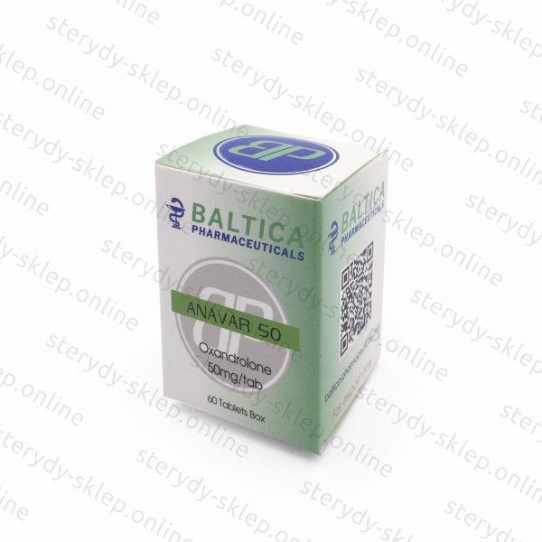 Anavar Oxandrolone 50 Baltica Pharmaceuticals