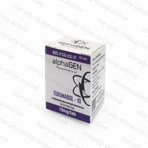 Turanabol-10 4-chlorodehydromethyltestosterone alphaGEN Pharmaceuticals